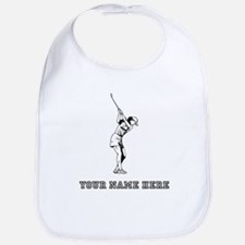 Custom Woman Golfer Bib