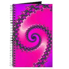 Pink Fractal Art Journal