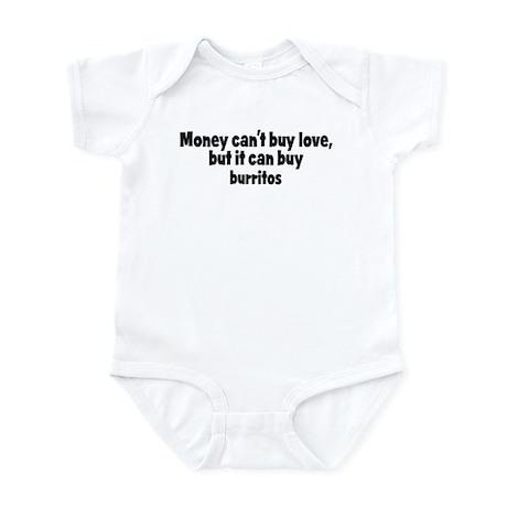 burritos (money) Infant Bodysuit