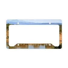 Wild Elephant License Plate Holder