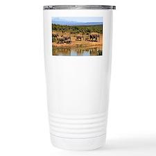 Wild Elephant Travel Mug