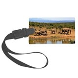 African safari Luggage Tags