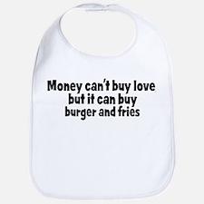 burger and fries (money) Bib