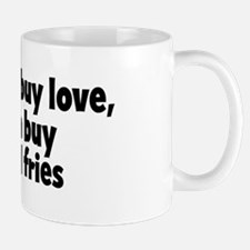 burger and fries (money) Mug