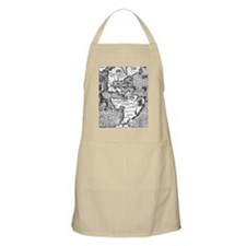 Old Map Apron