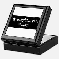 Daughter - Welder Keepsake Box