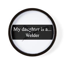 Daughter - Welder Wall Clock