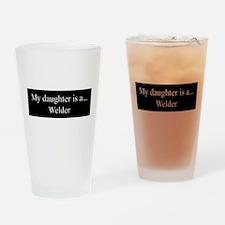 Daughter - Welder Drinking Glass