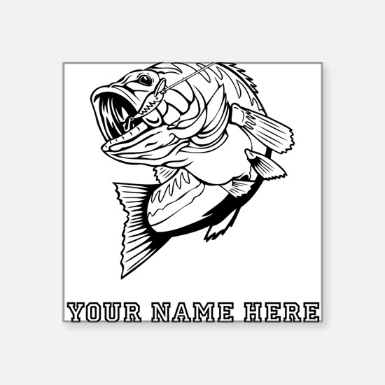 Custom Bass Sticker