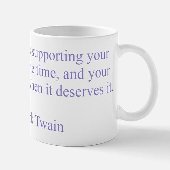 Mark Twain Patriotism Mug