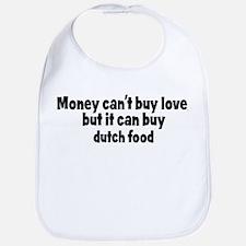 dutch food (money) Bib