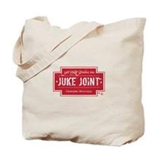 Clarksdale Juke Joint - Red Cross Design Tote Bag