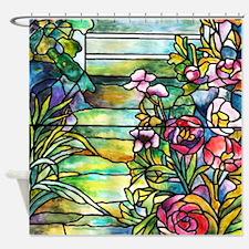 Robert Mellon House Shower Curtain