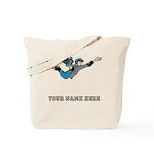 Custom Skateboarder Cartoon Tote Bag