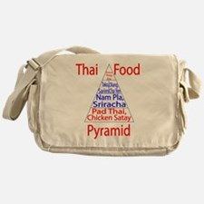 Thai Food Pyramid Messenger Bag
