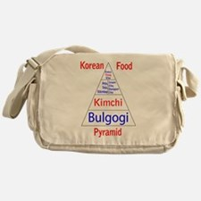 Korean Food Pyramid Messenger Bag
