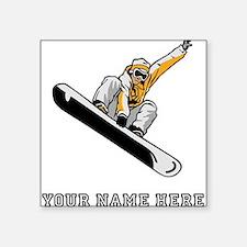 Custom Extreme Snowboarder Sticker