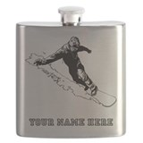 Snowboard Flask Bottles