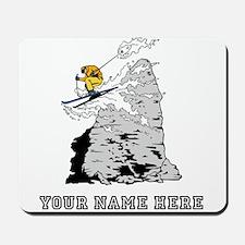 Custom Extreme Skier Mousepad
