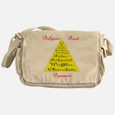 Belgian Food Pyramid Messenger Bag