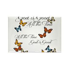 God is Good- Butterflies Magnets