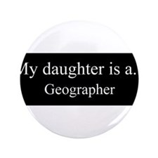 """Daughter - Geographer 3.5"""" Button"""