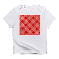 Cute Red white checker Infant T-Shirt