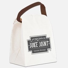 Clarksdale Juke Joint - Charcoal Cross Design Canv