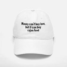 cajun food (money) Baseball Baseball Cap