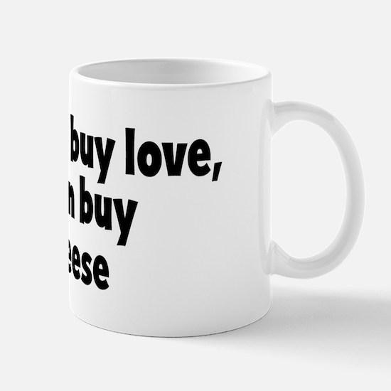 brie cheese (money) Mug