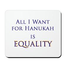 Equality Hanukah Mousepad