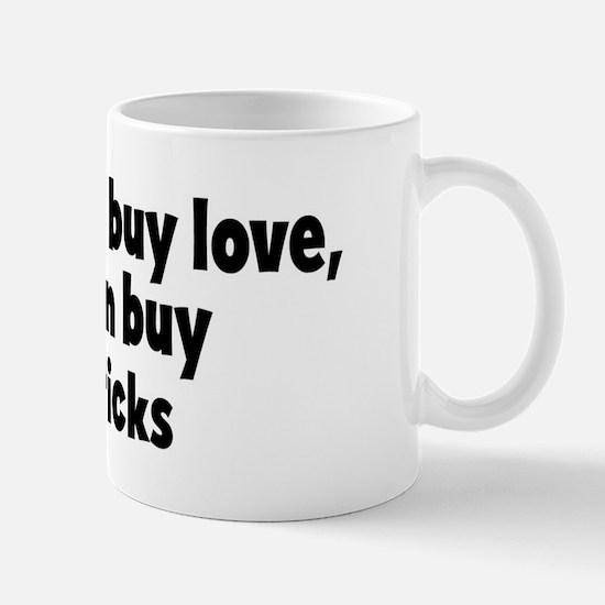 breadsticks (money) Mug