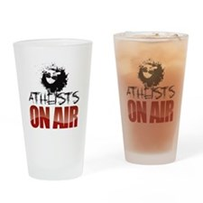 AOA Logo Drinking Glass