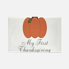 My First Thanksgiving Pumpkin Magnets