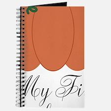 My First Thanksgiving Pumpkin Journal