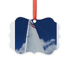Sailboat Sail Ornament