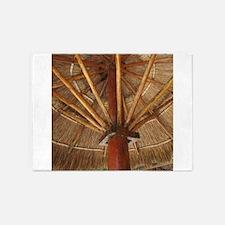 Tiki Umbrella 5'x7'Area Rug