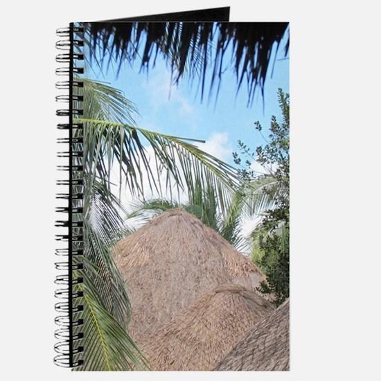 Tropical Beach Scene Journal