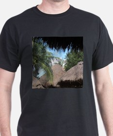 Tropical Beach Scene T-Shirt