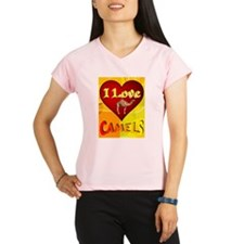 I Love Camels Performance Dry T-Shirt