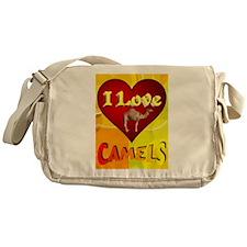 I Love Camels Messenger Bag