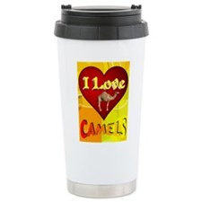 I Love Camels Travel Mug