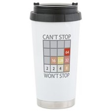 2048 game Travel Mug
