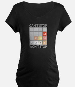 2048 game Maternity T-Shirt