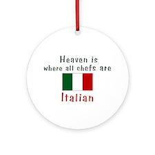 Italian Chefs Keepsake Ornament