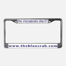 Chesapeake Bay License Plate Frame