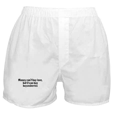 boysenberries (money) Boxer Shorts