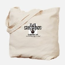 61/49 Crossroads Sign with Guitar - Design1 Tote B