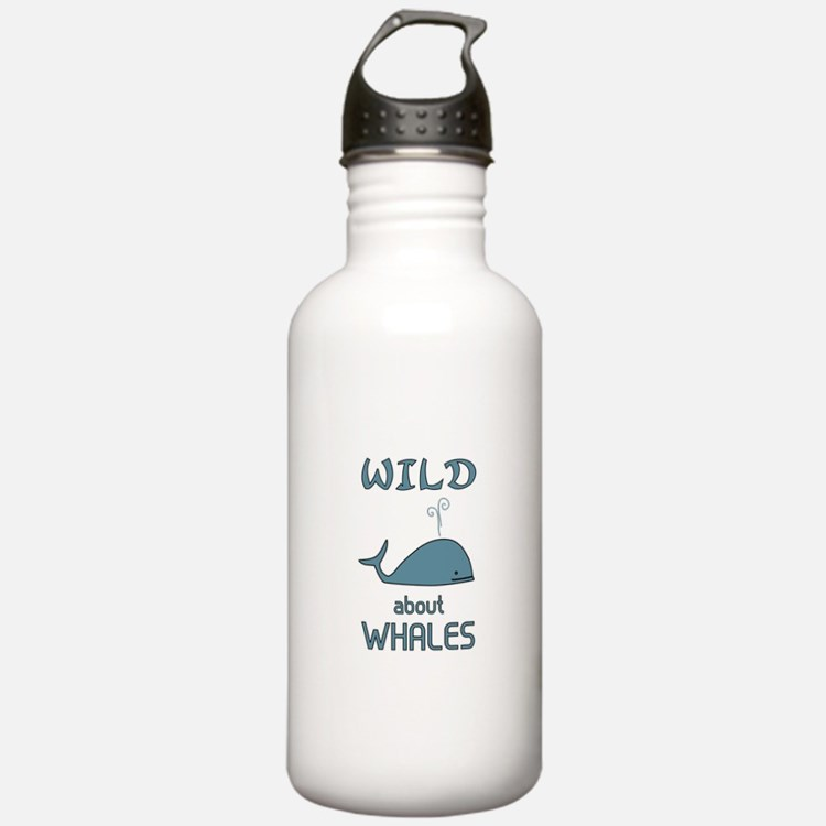 Wild About Whales Water Bottle