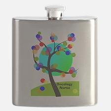 Oncology Nurse 6 Flask